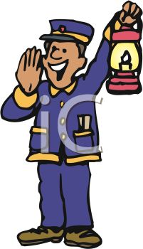 train engineer holding his lantern royalty free clipart image rh clipartguide com