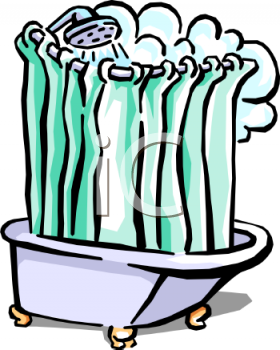 royalty free clip art image someone taking a steamy shower rh clipartguide com someone taking a shower clipart someone taking a shower clipart