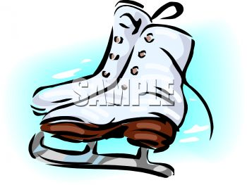 royalty free clipart image women s ice skates rh clipartguide com