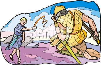 Bible Story - David Slays Goliath