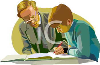 teacher helping a student royalty free clip art image rh clipartguide com Student at Desk Student Studying Clip Art
