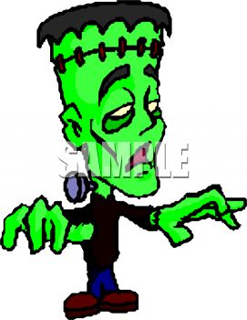 kid wearing a frankenstein costume for halloween royalty free clip rh clipartguide com frankenstein clipart pumpkin frankenstein clipart png