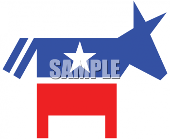 Political Party Symbol - The Democrat Donkey