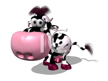 spotted 3d dairy cow royalty free clipart image rh clipartguide com diary clipart dairy clipart drawing