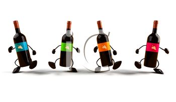3d dancing wine bottles royalty free clipart picture rh clipartguide com free clipart wine glass free clipart wine bottle