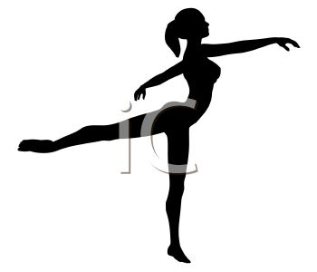 Silhouette of a Ballet Dancer