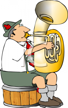 polka musician playing a tuba royalty free clip art picture rh clipartguide com tuba player clipart tuba player clipart
