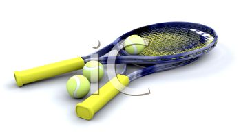 3D Tennis Equipment