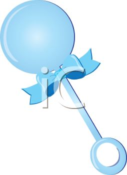 blue baby rattle royalty free clipart picture rh clipartguide com baby rattle images clip art baby rattle clip art black and white