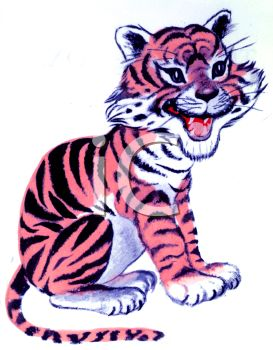 baby tiger royalty free clip art image rh clipartguide com free baby tiger clipart baby tiger clipart black and white