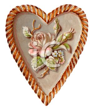 Antique Heart Engraving