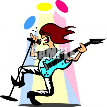 heavy metal guy singing and playing guitar royalty free clip art image rh clipartguide com guy clipart transparent clipart guy with megaphone