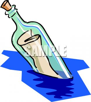 message in a bottle royalty free clip art illustration rh clipartguide com bottle clipart outline bottle clipart outline