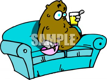 couch potato eating a snack royalty free clip art picture rh clipartguide com