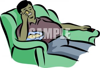 royalty free clipart image fat guy sitting on a couch eating rh clipartguide com couch potato clipart couch potato clipart