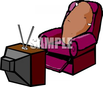 cartoon of a couch potato watching television royalty free clipart rh clipartguide com couch potato clipart