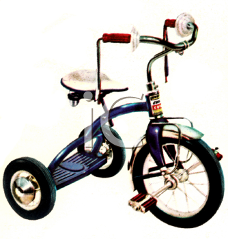 Kids Tricycle with Streamers