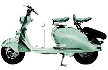 European Touring Motorscooter