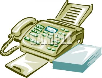 Royalty free clip art image multi line telephone and fax machine sciox Gallery