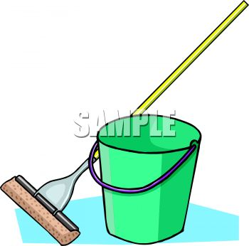 Sponge Mop and Pail