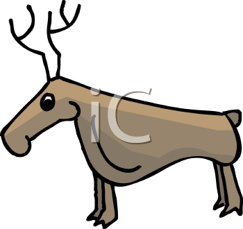 Cartoon Deer