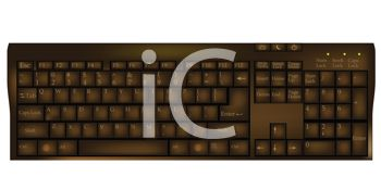 Chocolate Keyboard Shaped Candy