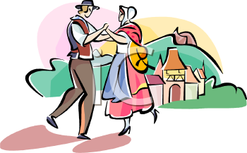 French Peasants Dancing