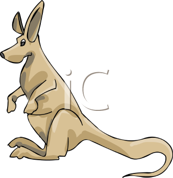 Cartoon Kangaroo