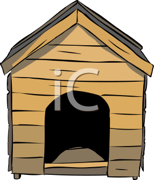 classic dog house royalty free clip art illustration rh clipartguide com animal shelter clipart free animal shelter clip art free