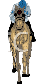Jockey on a Racehorse