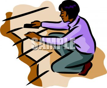 an african american woman cleaning stairs royalty free clip art image rh clipartguide com