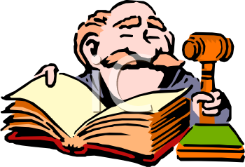 smiling judge with a legal book and gavel royalty free clip art image rh clipartguide com clip art juggling women clip art judge in court