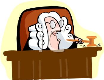 royalty free clip art image cartoon of a british judge wearing a rh clipartguide com  courtroom scene clipart