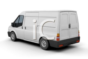 A Small 3D Delivery Van