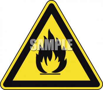 Safety Triangle for Campfires