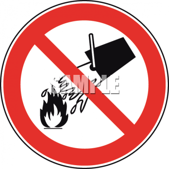 Campfires Prohibited Sign