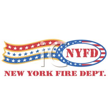 """This """"new york fire department logo"""" clipart image is available through a"""