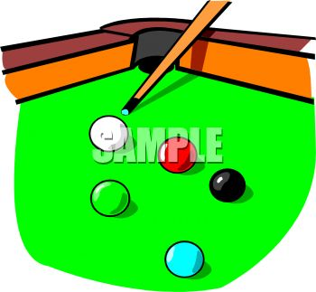 pool table with a cue stick and balls royalty free clip art image rh clipartguide com pool table clip art free pool table clip art