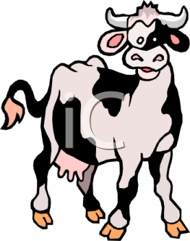 black and white cartoon dairy cow royalty free clip art illustration rh clipartguide com dairy cow clipart images dairy cow silhouette clipart
