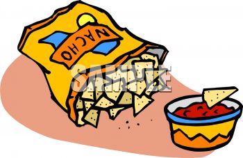 bag of nacho tortilla chips and salsa royalty free clip art picture rh clipartguide com nacho libre clip art nacho libre clip art