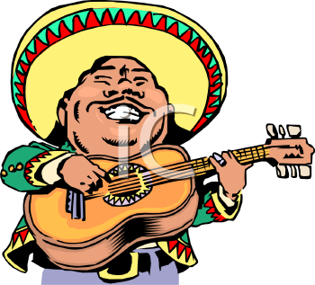 realistic style mariachi musician royalty free clipart picture rh clipartguide com  mariachi band clipart
