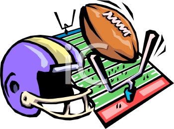 football equipment royalty free clipart picture rh clipartguide com football game clipart free high school football game clipart