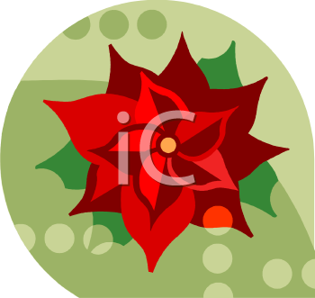 Poinsettia Icon