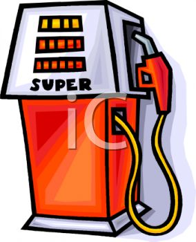 Super Octane Gas Pump