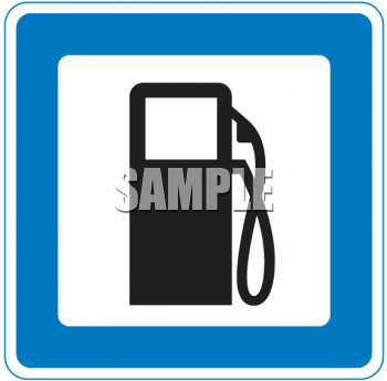 Logo Icon for a Gas Pump