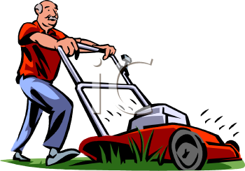 old guy mowing his grass royalty free clip art image rh clipartguide com mowing clip art free images moving clipart