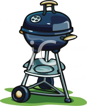 A Charcoal Barbecue
