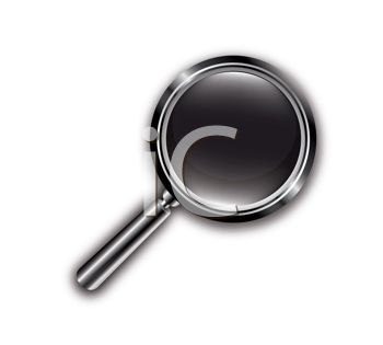 Stylized Magnifying Glass