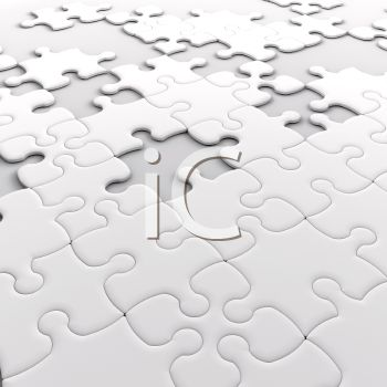 3D Jigsaw Puzzle with Missing Pieces