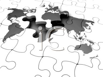 3d world map jigsaw puzzle royalty free clipart picture gumiabroncs Gallery